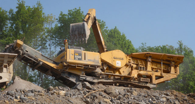 Rockydale Portable Crushing